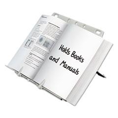 Fellowes BookLift Copyholder, Plastic, One Book/Pad, Platinum