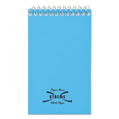 National® NOTEBOOK WRBND 3X5 END WIREBOUND MEMO BOOKS, NARROW RULE, 3 X 5, WHITE, 60 SHEETS