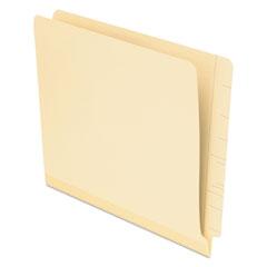 Pendaflex Laminate Spine Shelf File Folder, Straight Tab, 11 pt Manila, Letter, 100/Box
