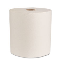 Boardwalk Green Universal Roll Towels, Natural White, 8