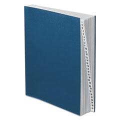 Pendaflex Expanding Desk File, 1-31, Letter Size, Acrylic-Coated Pressboard, Black/Blue