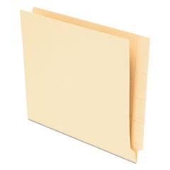 Pendaflex End Tab File Folders, Straight Tab, Letter, Manila, 75/Box