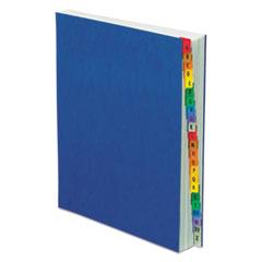 Pendaflex PressGuard Expanding Desk File, A-Z, Letter Size, Acrylic-Coated, Blue