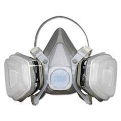 3M Dual Cartridge Respirator Assembly 52P71, Organic Vapor/P95, Medium