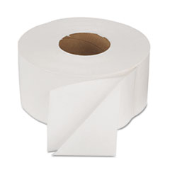 Boardwalk Green Bathroom Tissue, 2-Ply, White, 1000 ft/Roll, 12 Rolls/Carton