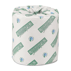 Boardwalk Green Plus Bathroom Tissue, 2-Ply, White, 500 Sheets/Roll, 80 Rolls/Carton