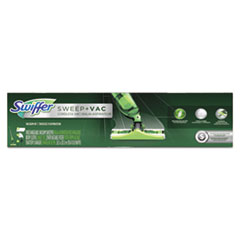 Swiffer® VACUUM SWFR SWEEP+VAC SK Sweep + Vac Starter Kit With 8 Dry Cloths, 2 Kits-carton