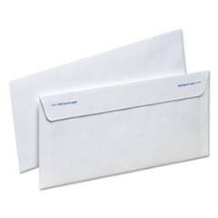 Ampad Gold Fibre Fastrip Security Envelope, Self-Adhesive, #10, White, 100/Box