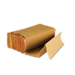 Boardwalk Multifold Paper Towels, Brown, 9 x 9 9/20, 250/Pack, 16 Packs/Carton