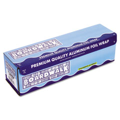 Boardwalk Heavy-Duty Aluminum Foil Rolls, 18 in. x 1000 ft., Silver