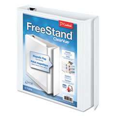 Cardinal FreeStand Easy Open Locking Slant-D Ring Binder, 1 1/2