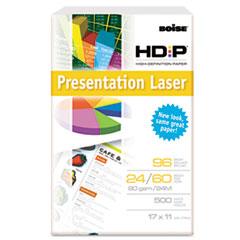 Boise HD:P Presentation Laser Paper, 96 Brightness, 24lb, 11 x 17, White, 500/Ream