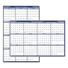House of Doolittle Poster Style Reversible/Erasable Academic Yearly Calendar, 24 x 37, 2015-2016