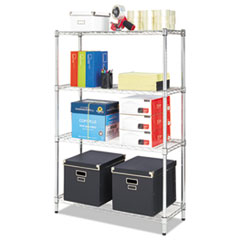 ALE SW843614SR Alera Light-Duty Residential Wire Shelving Kit ALESW843614SR