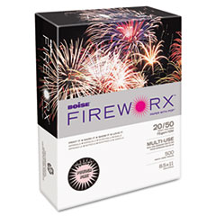 Boise FIREWORX Colored Paper, 20lb, 8-1/2 x 11, Powder Pink, 500 Sheets/Ream