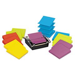 Post-it Pop-up Notes Super Sticky Super Sticky Pop-up Dispenser Value Pack, 3 x 3, Assorted