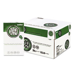 Boise X-9 Copy Paper, 92 Brightness, 20lb, 8-1/2 x 14, White, 5000 Sheets/Carton