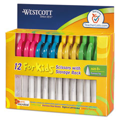 Westcott Kids Scissors with Antimicrobial Protection, 5