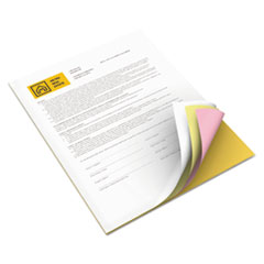 Xerox Bold Digital Carbonless Paper, 8 1/2 x11, White/Canary/Pink/Gldrod, 5,000 Sheets