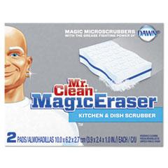 Mr. Clean Magic Eraser Kitchen Scrubber, 3 9/10