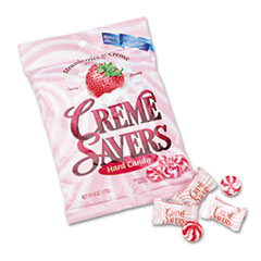 LifeSavers Strawberry Crme Savers Hard Candy, 6oz Pack