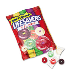 LifeSavers Hard Candy, Five Classic Flavors, Individually Wrapped, 6.25oz Bag