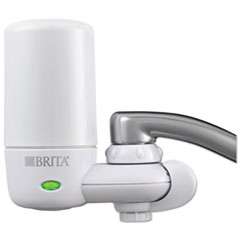 Brita On Tap Faucet Water Filter System, White