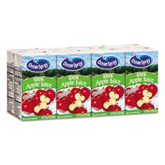 Ocean Spray Aseptic Juice Boxes, 100% Apple, 4.2oz, 40/Carton