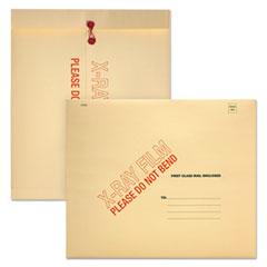 Quality Park X-Ray Film Mailer, String/Button Closure, Contemporary, 18 x 15, 100/Carton