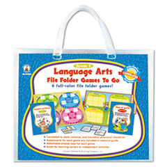 Carson-Dellosa Publishing File Folder Games-To-Go, Language Arts, Third Grade