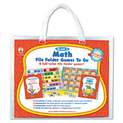 Carson-Dellosa Publishing File Folder Games-To-Go, Mat, First Grade