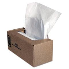 Fellowes® BAG 21X15X39 50-CT CLR SHREDDER WASTE BAGS, 25 GAL CAPACITY, 50-CARTON