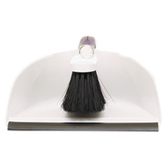 Rubbermaid Commercial Duster Brush w/Plastic Dustpan, White