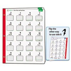 Carson-Dellosa Publishing Math Windows, Addition, Five Write-On/Wipe-Away Cards
