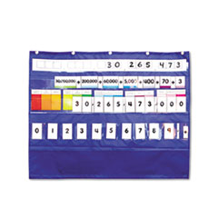 Carson-Dellosa Publishing Place Value Pocket Chart, 33 1/2 x 26 1/4