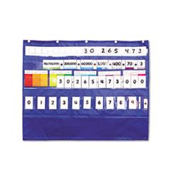 Carson-Dellosa Publishing Place Value Pocket Chart, 33 1/2 x 26 1/4