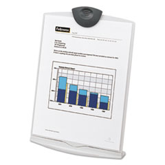 Fellowes Copy Stand, Plastic, 75 Sheet Capacity, Platinum