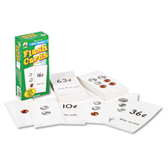 Carson-Dellosa Publishing Flash Cards, U.S. Money, 3w x 6h, 96/Pack