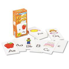 Carson-Dellosa Publishing Flash Cards, Alphabet, 3w x 6h, 80/Pack