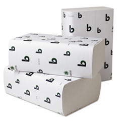 Boardwalk Multifold Paper Towels, White, 9 x 9 9/20, 250 Towels/Pack, 16 Packs/Carton