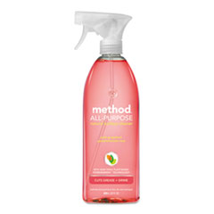 Method® CLEANER ALL PURP SPRY PK All-Purpose Cleaner, Pink Grapefruit, 28 Oz Bottle