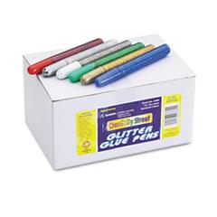 Chenille Kraft Glitter Glue Pens, Assorted, 10 cc Tube, 72/Pack