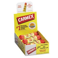Carmex Moisturizing Lip Balm, Original Flavor, .35oz, 12/Box