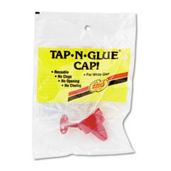 Chenille Kraft Tap 'N Glue Dispenser Cap with Spring-Loaded Stopper