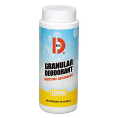 Big D Industries DEODORANT GRANULR LEMON GRANULAR DEODORANT, LEMON, 16 OZ, SHAKER CAN, 12-CARTON