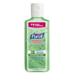 PURELL Advanced Instant Hand Sanitizer w/Aloe, 4oz Flip-Cap Bottle, 24/Carton
