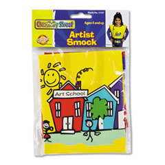 Chenille Kraft Kraft Artist Smock, Fits Kids Ages 3 8, Vinyl, Bright Colors