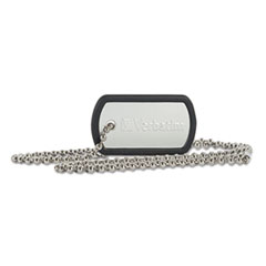 VER 98505 Verbatim Dog Tag USB Flash Drive VER98505