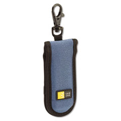 Case Logic USB Drive Shuttle, Holds 2 USB Drives, Blue