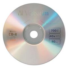 VER 96155 Verbatim CD-R Music Recordable Disc VER96155